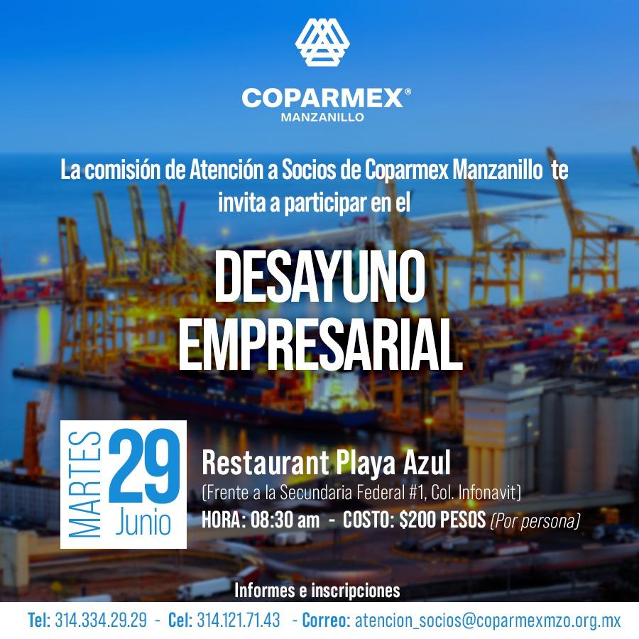 Eventos COPARMEX Manzanillo